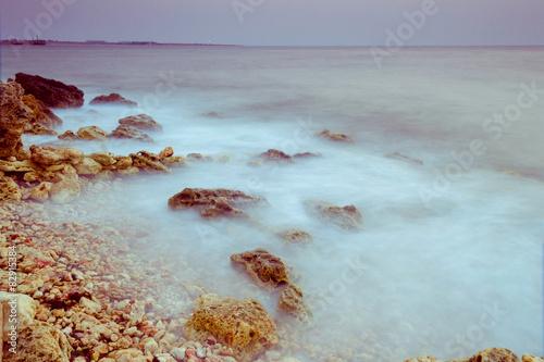Spoed Foto op Canvas Oceanië Evening in bay of Sevastopol