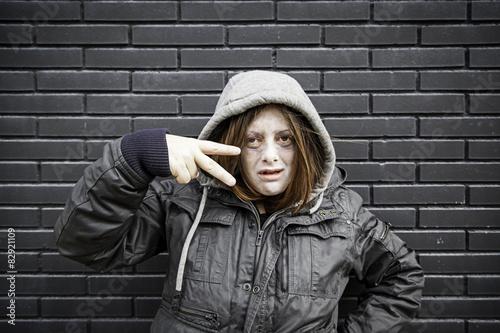 Fotografie, Obraz  Urban girl band