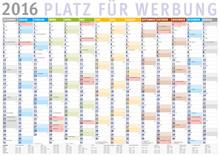 Kalender 2016 (Dezember 2015 B...