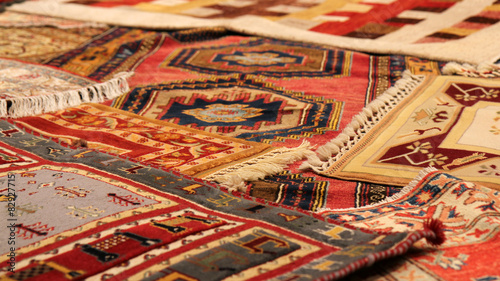 Tuinposter Midden Oosten Traditional carpets from Middle East.