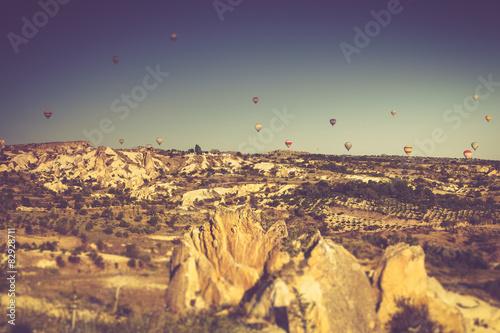 Papiers peints Cactus Volcanic mountains in Goreme national park. Cappadocia.