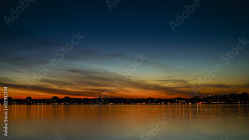 Barrie Sunset Canvas Print