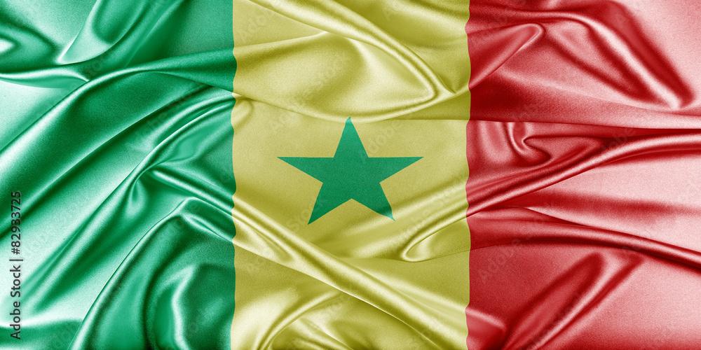 Fotografía Bandera De Senegal Europosterses