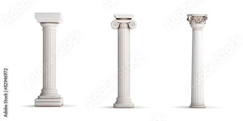 Fotomural 3 classic column orders