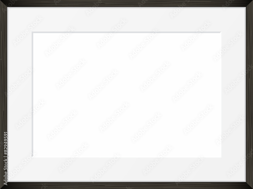 Fototapety, obrazy: Vector blank of Photo frame