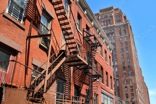 Photo  New York City / Fire escapes