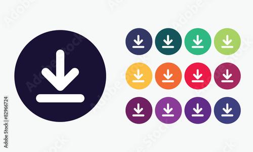 Fotografía  Download icon - Sign