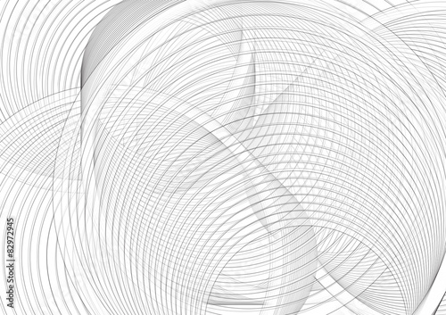 Poster Spiraal spirale nera