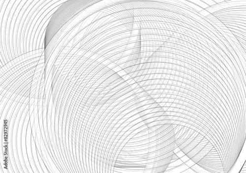Foto op Canvas Spiraal spirale nera
