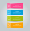 Infographics template for design, banners, brochures, flyers.