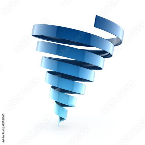 Papiers peints Spirale spiral ribbon