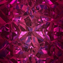 Red Background Of Jewelry Gems...