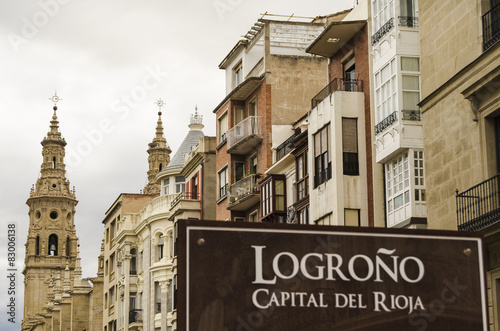 Logrono city view
