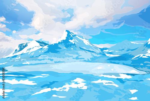 Norway landscape #83008506