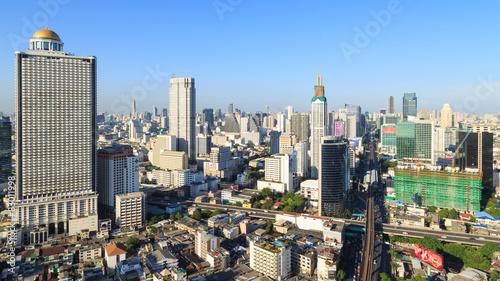 Bangkok Cityscape Canvas Print
