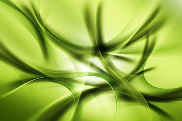 Obraz na Plexi Green Abstract Design