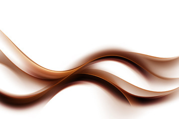 Panel Szklany Dym Abstract Brown Background