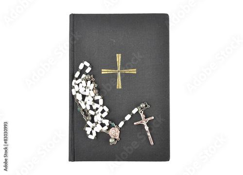 Fotografija  Gebetbuch mit Rosenkranz