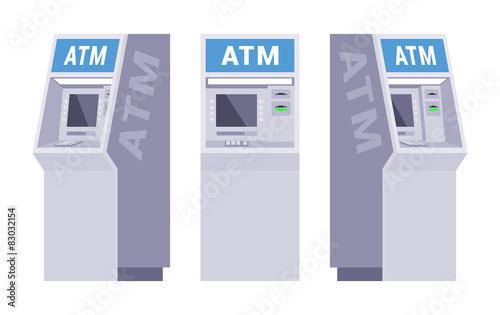 Fotografia, Obraz Set of the ATMs
