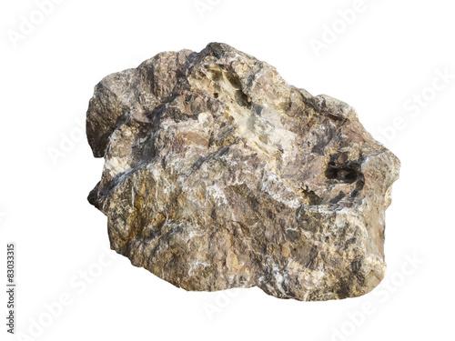 Huge Granite Stone : Big granite rock stone isolated buy this stock photo