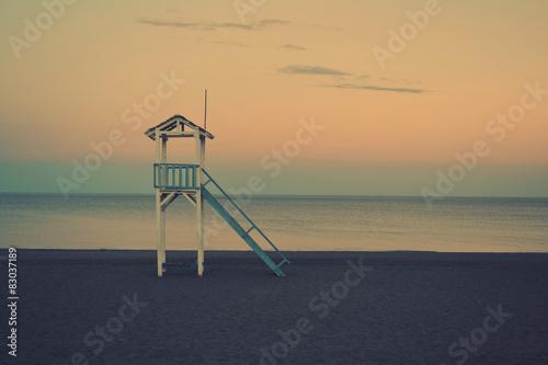Fototapeta Lifeguard Stand obraz na płótnie