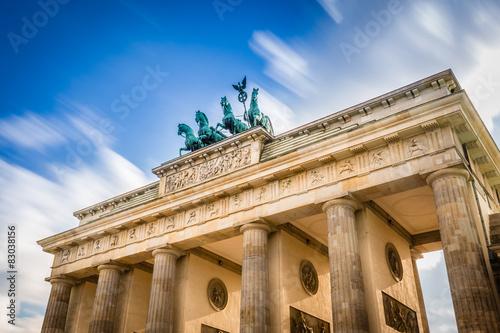 Poster Artistique Brandenburger Tor - Berlin - Deutschland