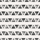 Abstract Triangular Shapes Seamless Pattern - 83039372