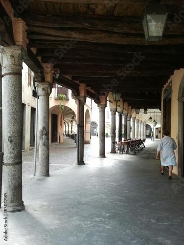 I portici di Abbiategrasso (Milano) Wallpaper Mural