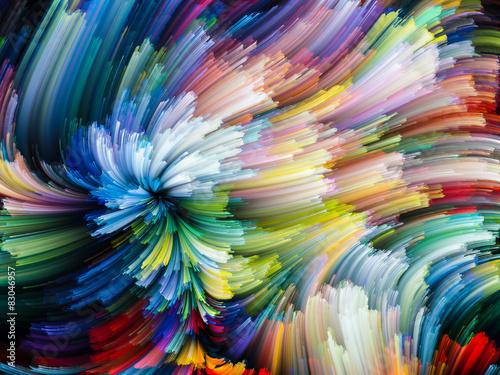 Fototapeta In Search of Color obraz na płótnie