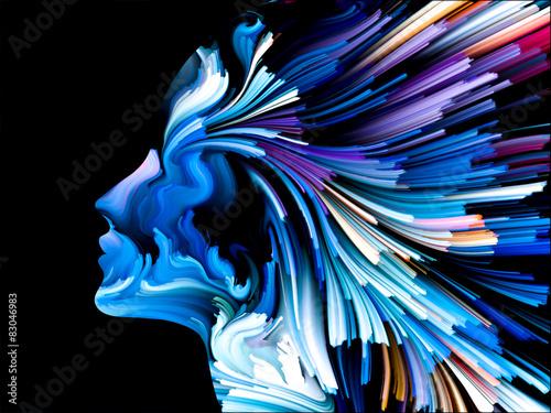 Obraz Mind Painting Background - fototapety do salonu