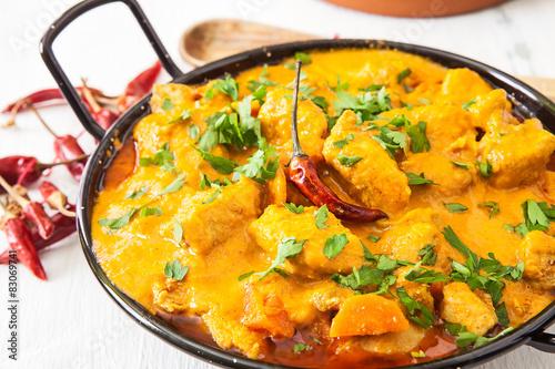 Obraz Chicken curry - fototapety do salonu