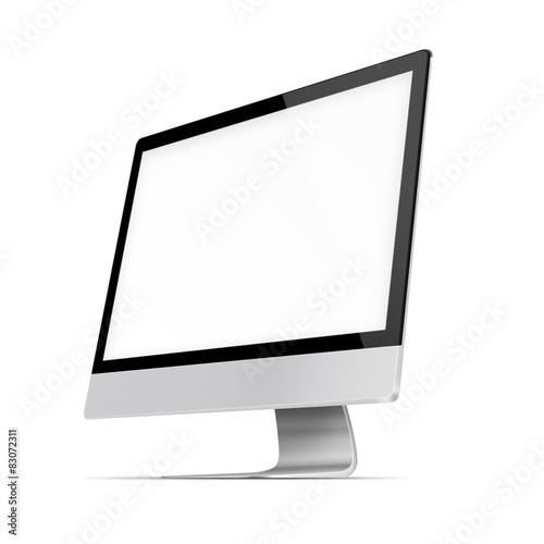Fotografie, Obraz  Modern flat screen computer monitor.