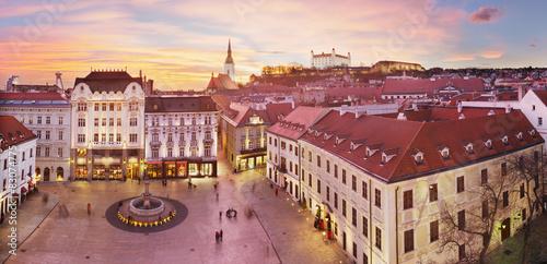 Bratislava Panorama - Main Square Wallpaper Mural