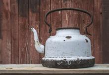 Old Metal Teapot
