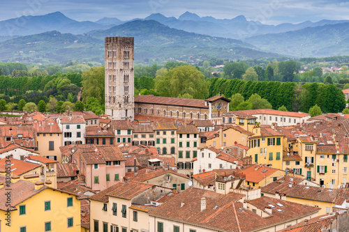 Fototapety, obrazy: Lucca Tuscany Italy