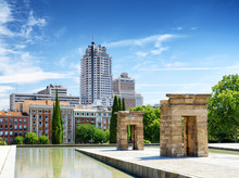 Gates To The Temple Of Debod