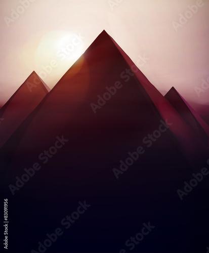 Fotografia Pyramids Background