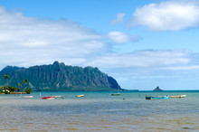 Kaneohe Bay And China Man's Ha...