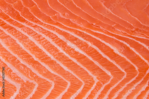 Fotografia Close up of salmon fillet.