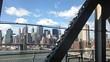 Downtown New York City from Manhattan Bridge