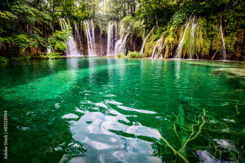 Photo sur Aluminium Cascade Plitvicka jezera national park Croatia