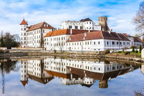 Photo castle and palace of Jindrichuv Hradec, Czech Republic