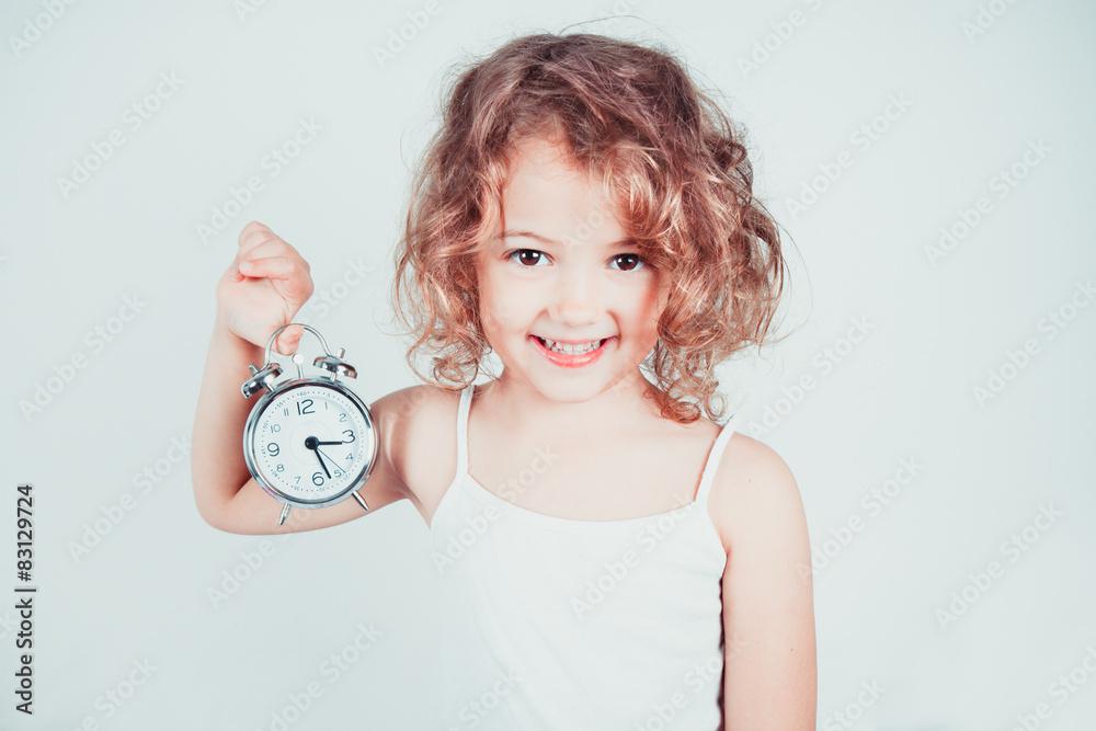 Fototapeta bambina svegliata