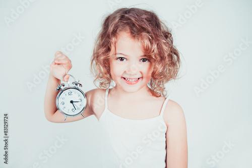 Fototapeta bambina svegliata obraz