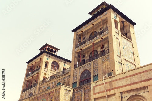 Fotobehang Midden Oosten Golestan Palace, Tehran, Iran