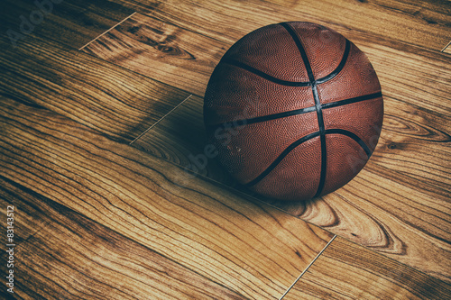Basketball on Hardwood 1