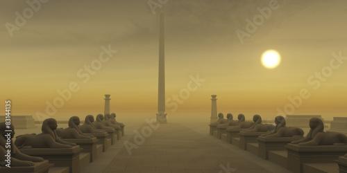 Fotografía Egyptian Obelisk