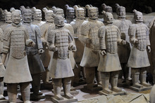 Terracotta Army, Replicas Of Warriors