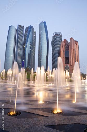Deurstickers Abu Dhabi Abu Dhabi, UAE