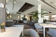Elegant cafe interior